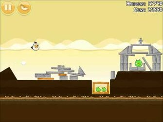 Official Angry Birds Walkthrough Mighty Hoax 5-5