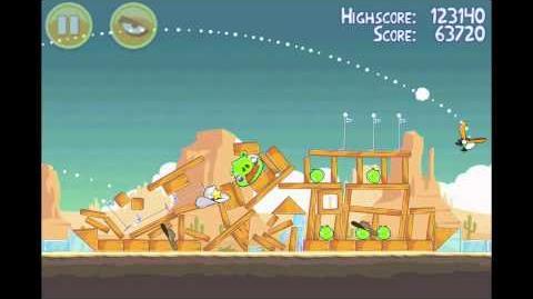 Angry Birds 3 Star Walkthrough Level 13-15