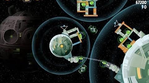 Angry Birds Star Wars 6-8 Death Star 2 Walkthrough 3 Stars