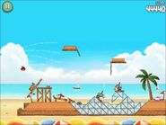 Official Angry Birds Rio Walkthrough Beach Volley 5-10
