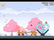 Official Angry Birds Seasons Walkthrough Hogs and Kisses 1-10