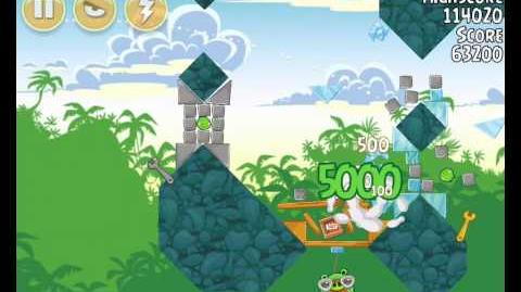 Angry Birds 21-3 Bad Piggies 3 Star Walkthrough (Angry Birds Classic 21-3)