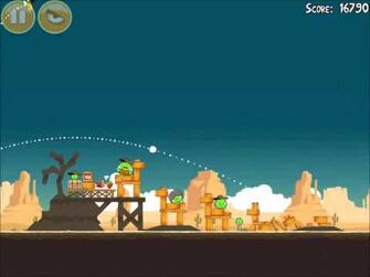 Official Angry Birds Walkthrough Ham 'Em High 14-17