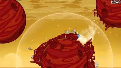 Angry Birds Space Red Planet 5-3 Walkthrough 3-Star