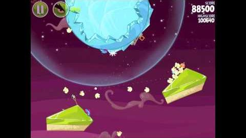 Angry Birds Space Utopia 4-23 Walkthrough 3-Star