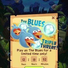 Los Azules en el juego.