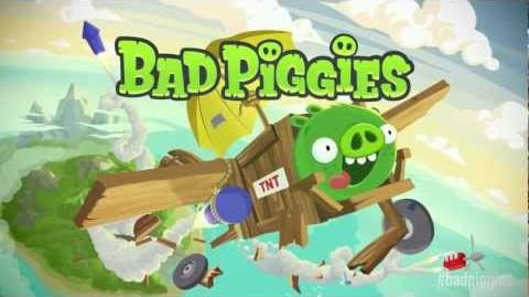 Bad Piggies official gameplay trailer