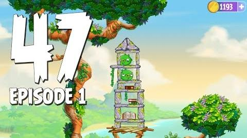 Angry Birds Stella Level 47 Walkthrough Branch Out Episode 1