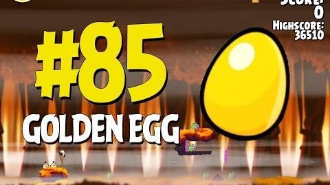 Angry Birds Seasons Hammier Things Golden Egg 85 Walkthrough