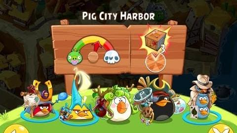 Angry Birds Epic Pig City Harbor Walkthrough