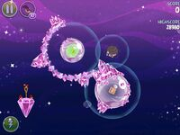Cosmic Crystals 7-6 (Angry Birds Space)