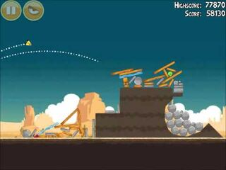 Official Angry Birds Walkthrough Ham 'Em High 14-11