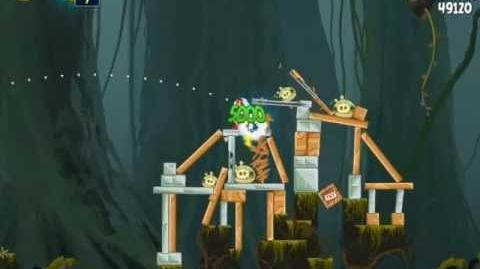 Angry Birds Star Wars J-1 Path of the JEDI 3-Star Walkthrough