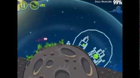 Angry Birds Space Pig Bang 1-8 Space Eagle Walkthrough
