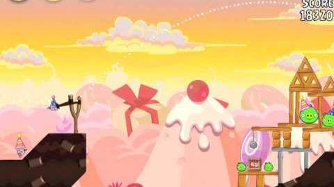 Angry Birds Birdday Party 19-5 Walkthrough 3 Star Birthday Party