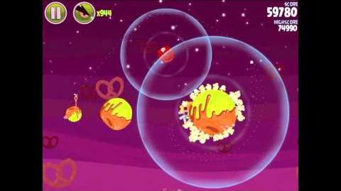 Angry Birds Space Utopia 4-10 Walkthrough 3-Star