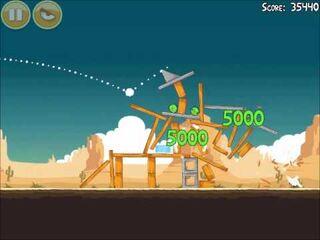 Official Angry Birds Walkthrough Ham 'Em High 13-11