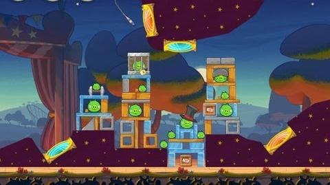Angry Birds Seasons Abra-ca-Bacon 1-12 Walkthrough 3-Star