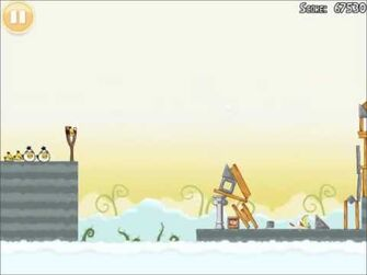 Official Angry Birds Walkthrough Danger Above 8-13