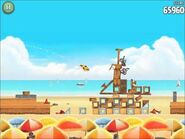 Official Angry Birds Rio Walkthrough Beach Volley 5-5