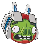 STARSCREAM MINION PIG HEAD