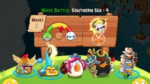 Angry Birds Epic Southern Sea Level 4 Walkthrough