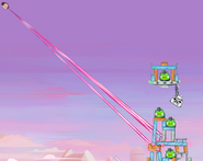 Pink Bird Using The Force