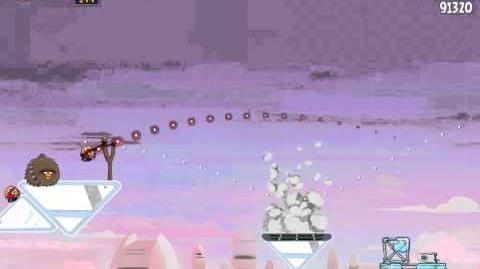 Angry Birds Star Wars 4-7 Cloud City 3-Star Walkthrough