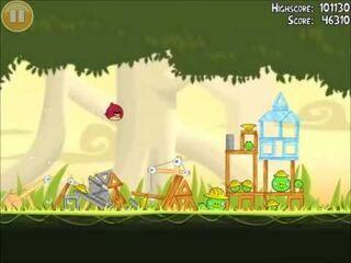 Official Angry Birds Walkthrough The Big Setup 11-7