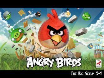 Official Angry Birds Walkthrough The Big Setup 9-1