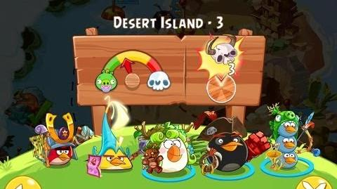 Angry Birds Epic Desert Island Level 3 Walkthrough