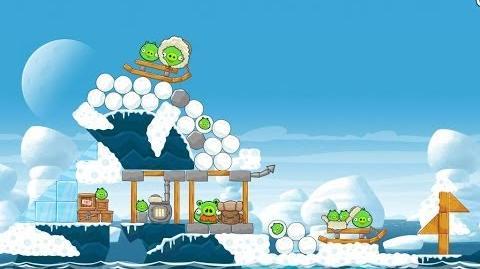 Angry Birds Seasons Arctic Eggspedition 1-13 Walkthrough 3 Star