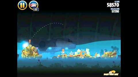 Angry Birds Star Wars 3-33 Hoth 3-Star Walkthrough