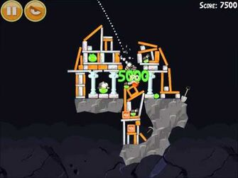 Official Angry Birds Walkthrough Mine and Dine 15-2