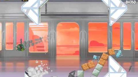 Angry Birds Star Wars 4-19 Cloud City 3-Star Walkthrough