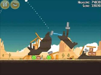 Official Angry Birds Walkthrough Ham 'Em High 13-3