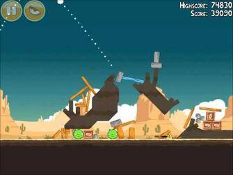 Official Angry Birds Walkthrough Ham 'Em High 13-3