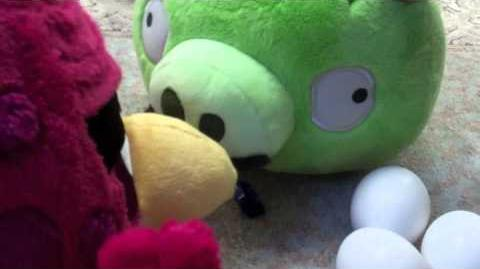 Angry Birds Craptastic Adventures Baby Sitter