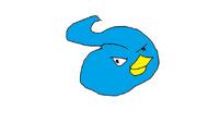 Colgate bird