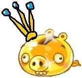 Golden pig king