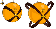 Angry Birds Space Orange Bird