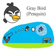 Gray Bird (Penquin)