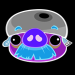 Dark Helmet Moustache Pig