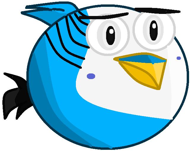 Aqua vaccum bird