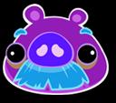 Dark Moustache Pig