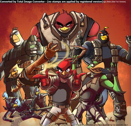 Archivo:Angry Birds Star Fox.jpg