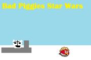 Bad Piggies star wars main screen