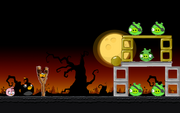 Angry Birds Seasons - Level 4-11 - Trick or Treat II