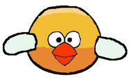 Yellow Flappy Angry Bird