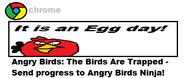 Chrome Birds Trapped